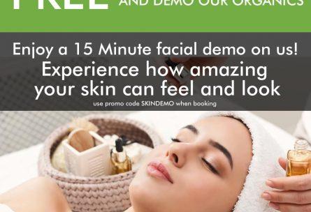 free facial demo