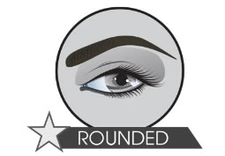 microblading rounded