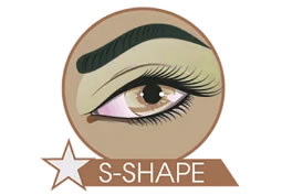 microblading s-shape