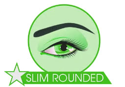 microblading slim rounded